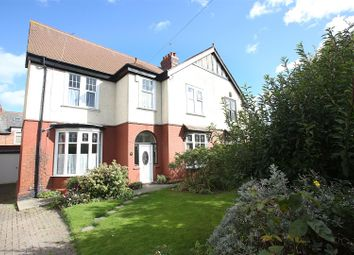 Thumbnail 4 bed semi-detached house for sale in Claremont Gardens, Whitley Bay