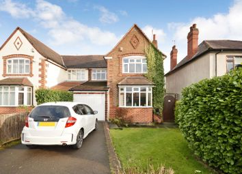 Thumbnail 3 bed semi-detached house for sale in Leicester Road, Glen Parva, Leicester