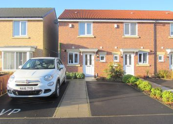 Thumbnail 2 bedroom terraced house for sale in Corinto Close, Cramlington