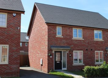 Thumbnail 3 bed semi-detached house for sale in Falcon Road, Priors Hall Park, Corby