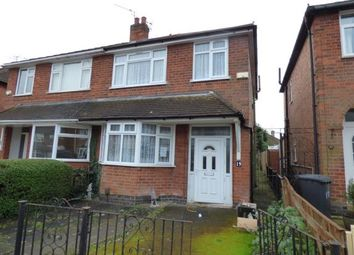 Thumbnail 3 bedroom semi-detached house for sale in Eastwood Road, Leicester