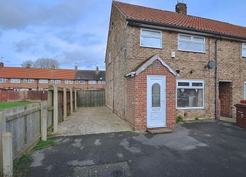 Thumbnail 3 bed end terrace house for sale in Earsham Close, Hull, Yorkshire