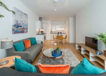 Thumbnail 2 bedroom flat for sale in Enterprise Way, London