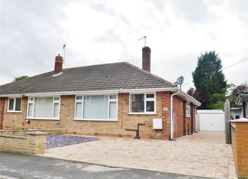 Thumbnail 2 bed semi-detached house for sale in Heath Croft, Fulford, York