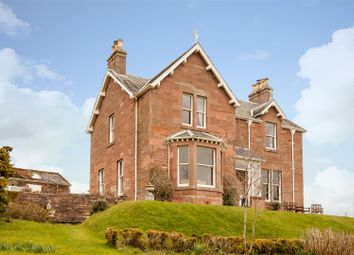 Thumbnail 4 bed detached house for sale in Bamff Road, Alyth, Blairgowrie