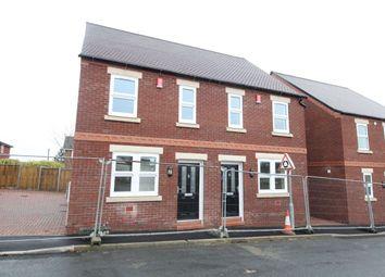 Thumbnail 2 bedroom semi-detached house for sale in Samuel Street, Packmoor, Stoke-On-Trent