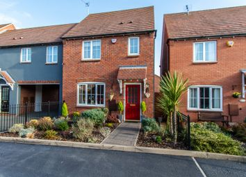 Thumbnail 3 bed end terrace house for sale in Paddock Way, Hinckley
