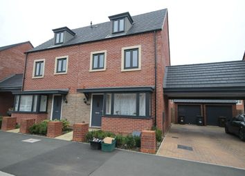 Thumbnail 4 bed semi-detached house for sale in Kent Road South, Marina Gardens, Northampton