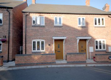 Thumbnail 3 bed semi-detached house for sale in Rock View Close, Coalville