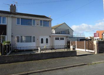 Thumbnail 3 bed semi-detached house for sale in Moelwyn Avenue North, Kinmel Bay, Rhyl