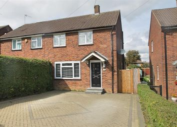 Thumbnail 3 bed semi-detached house for sale in Cheviot Close, Bushey
