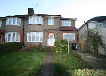 Thumbnail 4 bed semi-detached house to rent in Uxendon Hill, Wembley
