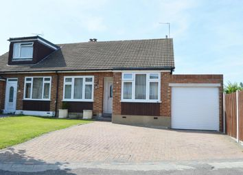 Thumbnail 2 bed semi-detached house for sale in Chelsworth Drive, Harold Wood, Romford