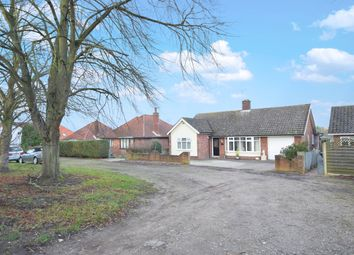 Thumbnail 3 bed detached bungalow for sale in Lowestoft Road, Worlingham, Beccles