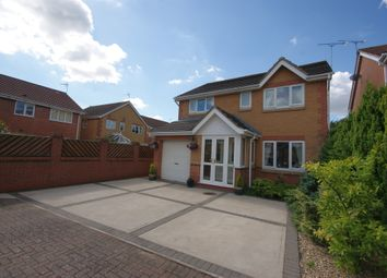 Thumbnail 4 bed detached house for sale in Bakewell Mews, North Hykeham, Lincoln