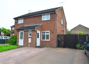 Thumbnail 2 bed semi-detached house for sale in Gorse Close, Rugby
