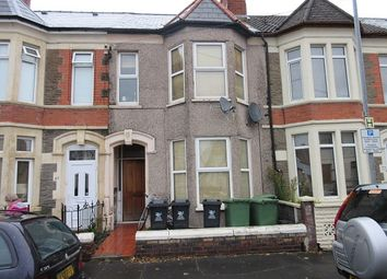 Thumbnail 1 bed flat to rent in Brunswick Street (Ground Floor Rear), Canton, Cardiff