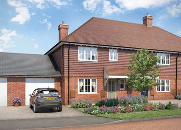 "Thumbnail 3 bed property for sale in ""The Chalgrove"" at Lenham Road, Headcorn, Ashford"