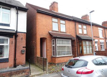 Thumbnail 3 bed end terrace house for sale in Highfield Street, Coalville, Leicestershire