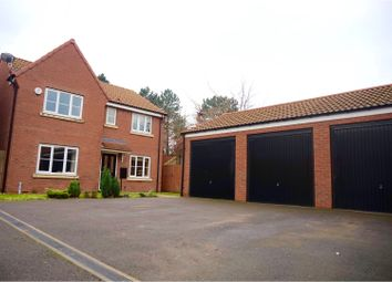 Thumbnail 4 bed detached house for sale in St. Giles Close, Retford