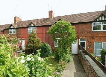 Thumbnail 3 bedroom terraced house for sale in Swanwick Avenue, Shirebrook, Mansfield