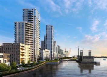 Thumbnail 2 bed flat for sale in The Waterman, Greenwich, London