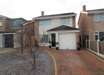 Thumbnail 3 bedroom detached house for sale in Ffordd Llywelyn, Wrexham