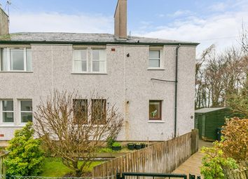 Thumbnail 3 bed flat for sale in Wallace Crescent, Roslin