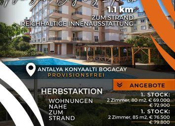 Thumbnail 2 bed apartment for sale in Konyaalti Bogacay, Antalya Province, Mediterranean, Turkey