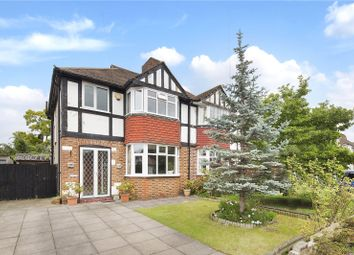 Thumbnail 3 bed semi-detached house for sale in Kneller Road, New Malden