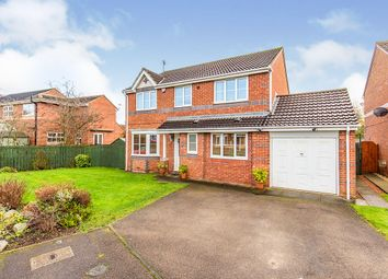 Thumbnail 4 bed detached house for sale in Abbotsfield Way, Faverdale, Darlington