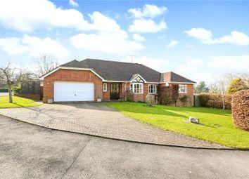 Thumbnail 4 bed detached bungalow for sale in Meadow Rise, Lockeridge, Marlborough, Wiltshire