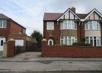 Thumbnail 3 bed semi-detached house for sale in Beckett Avenue, Mansfield