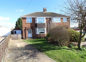 Thumbnail 3 bedroom semi-detached house for sale in Lynton Rise, Cleethorpes