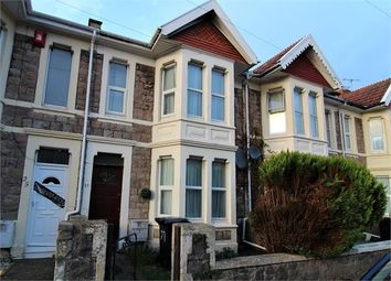 3 bed terraced house for sale in Kensington Road, Weston-Super-Mare, North Somerset. BS23