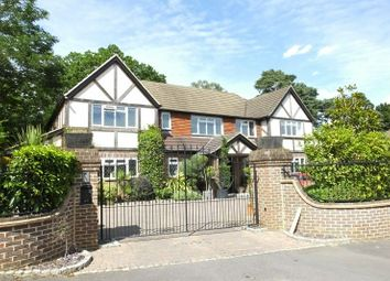 Thumbnail 6 bed detached house for sale in Hurst Close, Hook Heath, Woking