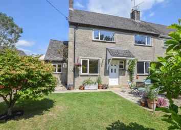 Thumbnail 3 bed semi-detached house for sale in Hillwell, Hankerton, Malmesbury