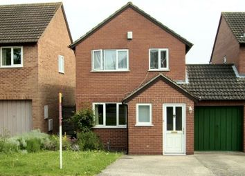 Thumbnail 3 bed detached house to rent in Lea Close, Claines, Worcester