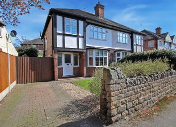 Thumbnail 3 bed detached house for sale in Grange Road, Woodthorpe, Nottingham