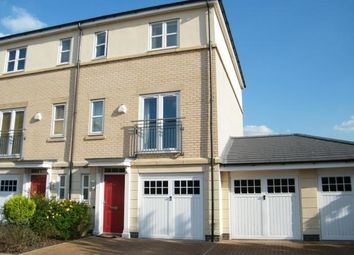 Thumbnail 3 bed end terrace house to rent in The Quays, Castle Quay Close, Nottingham