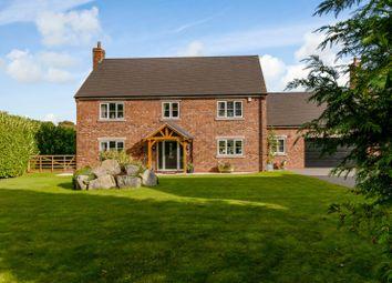Thumbnail 4 bed detached house for sale in Alverton Court, Alton, Staffordshire