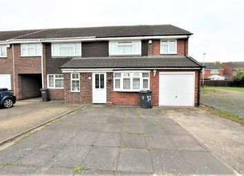 Thumbnail 4 bed semi-detached house for sale in Silverstone Drive, Leicester