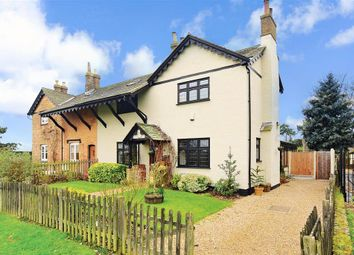 Thumbnail 4 bed semi-detached house for sale in The Green, Havering-Atte-Bower, Romford, Essex