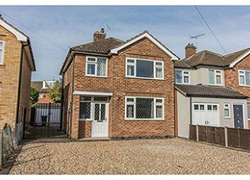 Thumbnail 3 bed detached house for sale in Saville Road, Leicester