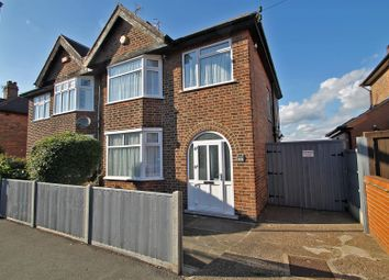Thumbnail 3 bed semi-detached house for sale in Wynndale Drive, Sherwood, Nottingham