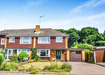 Thumbnail 3 bed semi-detached house for sale in Cowper Crescent, Bengeo, Hertford