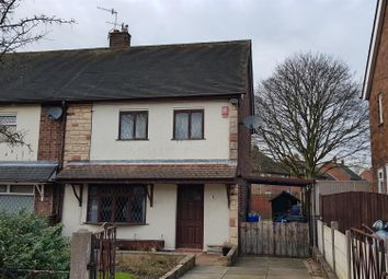 Thumbnail 2 bed semi-detached house for sale in Yateley Close, Stoke-On-Trent, Staffordshire