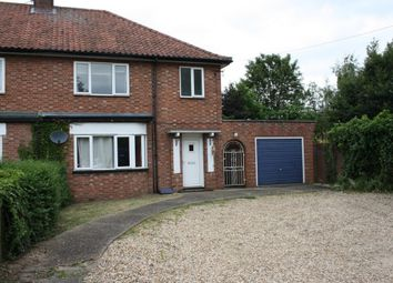 Thumbnail 3 bed semi-detached house to rent in Norwich Road, Thetford