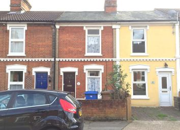 Thumbnail 2 bed terraced house to rent in Lancaster Road, Ipswich