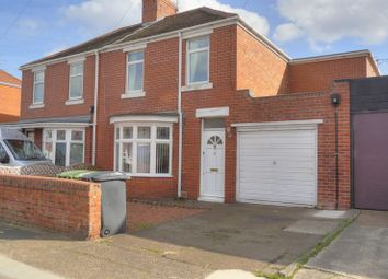 Thumbnail 4 bed semi-detached house for sale in Moorland Avenue, Bedlington